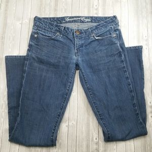 {T5} American Eagle Real Flare Jeans Size 4 Womens
